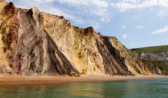 Alum Bay, image courtesy of Visit Isle of Wight
