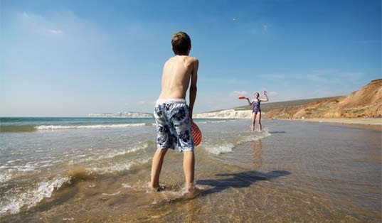 Compton Bay, image courtesy of Visit Isle of Wight