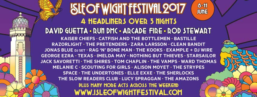 Buy Tickets for the Isle of Wight Festival 2017