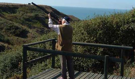 Clay Pigeon Shooting with Island Clay Breaks