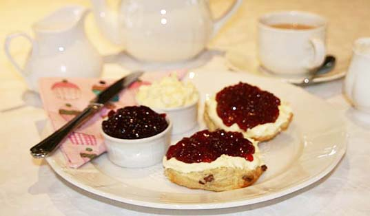 Chale Bay Farm Cream Tea